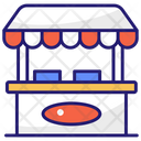 Stall Shop Food Stall Icon