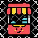Stall Market Shop Icon