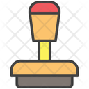 Stationary Stamp Office Icon