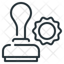 Stamp Approved Document Icon