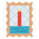 Stamp Mail Post Icon