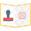 Stamp Postage Stamp Stamp Pad Icon