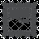 Signature Paper Stamp Post Stamp Icon