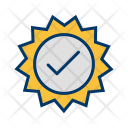 Stamp Valid Badge Icon