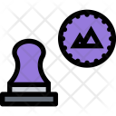 Stamp Design Brand Icon