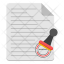 Affidavit Document Stamp Document Stamp Paper Icon
