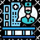Speech Bubble Hospital Protection Icon
