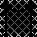 Chain Barrier Cinema Barrier Reception Barrier Icon