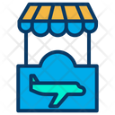 Airport Stall Airport Store Airport Shop Icon