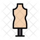 Garments Cloth Stand Icon