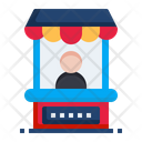 Stand Carnival Cart Icon