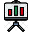Stand Chart Analyst Icon