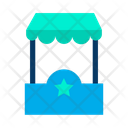 Stand Food Cart Food And Restaurant Icon