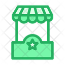 Kiosk Boutique Advertisement Icon