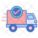 Standard Shipping Delivery Truck Delivery Icon