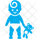 Standing Baby Icon