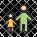 Standing Children Child Icon