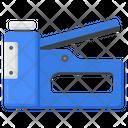 Staple Gun Stationery Item Staple Press Icon