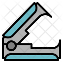 Staple Remover Stationery Icon