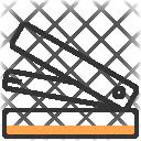 Stapler Design Stationery Icon