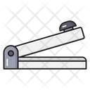 Stapler Clip Stationary Icon