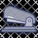 Stapler Paper Sheet Icon