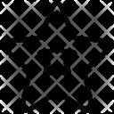 Star Starfish Favourite Icon