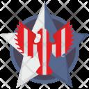 Star Eagle Sign Icon