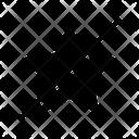Star Block Favourite Icon
