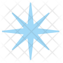 Snow Star Frost Icon