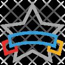 Star Banner Award Icon