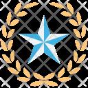Star Ranking Five Icon