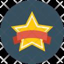 Star Badge Ribbon Icon