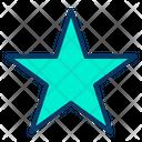 Star Shape Shape Favorite Icon