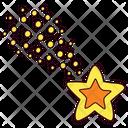 Star Christmas Comet Icon