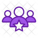 Leader Star Group Icon