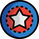 Star Shield Superhero Icon
