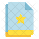 Multiple File Star Icon