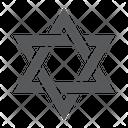 Star David Israel Icon