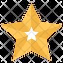 Star Badge Christmas Icon
