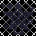 Star Ornament Decoration Icon