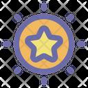 Star Sun Galaxy Icon