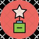 Star Trophy Prize Icon