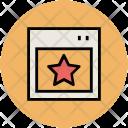 Star Bookmark Favourite Icon