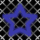 Favorite Decoration Star Icon