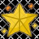 Star Christmas Favorite Icon