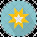 Star Multi Corners Icon