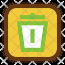 Trash Interface Design Icon