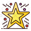 Star Star Ornament Party Decoration Icon