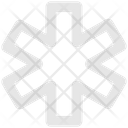 Star Multiply Calculation Icon